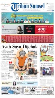 Cover Tribun Sumsel 04 September 2019