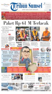 Cover Tribun Sumsel 05 September 2019