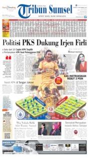 Cover Tribun Sumsel 08 September 2019