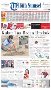 Cover Tribun Sumsel 09 September 2019