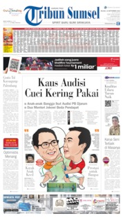 Cover Tribun Sumsel 10 September 2019