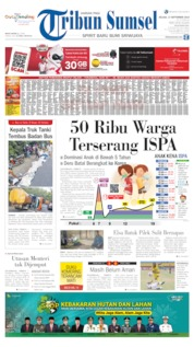 Tribun Sumsel Cover 17 September 2019
