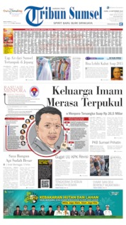 Tribun Sumsel Cover 19 September 2019