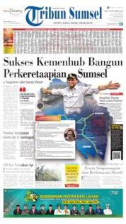 Cover Tribun Sumsel 20 September 2019