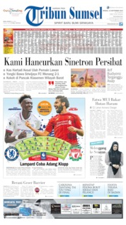 Cover Tribun Sumsel 22 September 2019