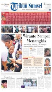Cover Tribun Sumsel 11 Oktober 2019