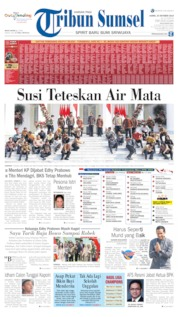 Tribun Sumsel Cover 24 October 2019