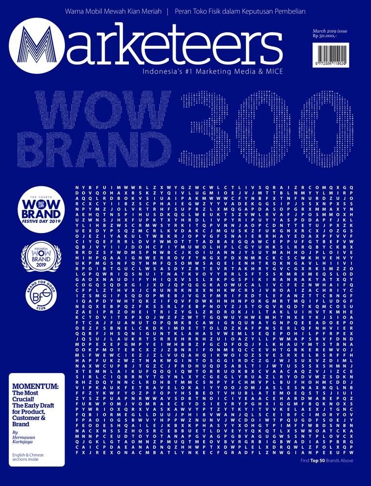 Majalah Digital Marketeers Maret 2019