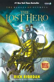 Cover THE HEROES OF OLYMPUS THE LOST HERO oleh