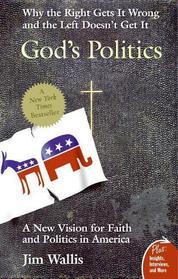 Cover God's Politics oleh Jim Wallis