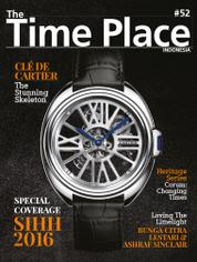 Cover Majalah The Time Place Indonesia ED 52 2016