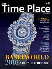 Cover Majalah The Time Place Indonesia ED 53 Juli 2016
