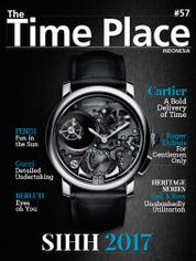 Cover Majalah The Time Place Indonesia ED 57 Maret 2017