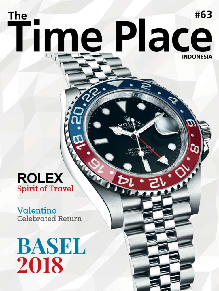 Majalah Digital The Time Place Indonesia ED 63 Juni 2018