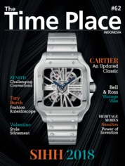 Cover Majalah The Time Place Indonesia ED 62 April 2018
