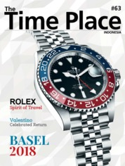 Cover Majalah The Time Place Indonesia ED 63 Juni 2018