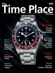 Cover Majalah The Time Place Indonesia ED 66 Desember 2018