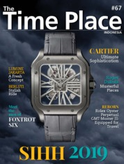 Cover Majalah The Time Place Indonesia