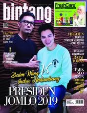 Cover Majalah bintang Indonesia ED 1406 Juni 2018