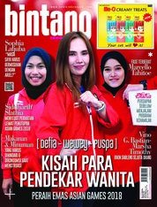 Cover Majalah bintang Indonesia ED 1417 September 2018