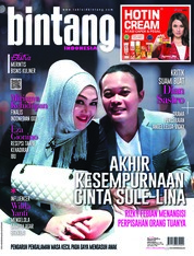 Cover Majalah bintang Indonesia ED 1419 September 2018