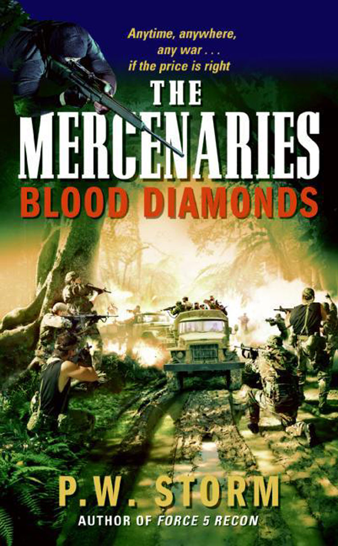 The Mercenaries: Blood Diamonds by P. W. Storm Digital Book