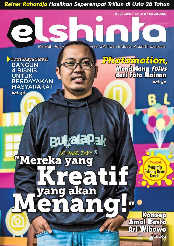 Majalah Digital elshinta Juli 2016