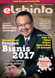 Elshinta Magazine Cover December 2016