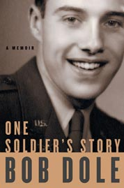 Cover One Soldier's Story oleh Bob Dole