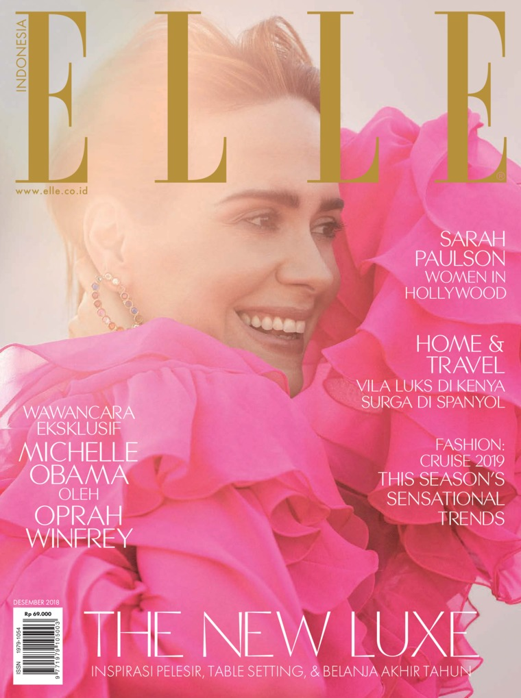 ELLE Indonesia Digital Magazine December 2018