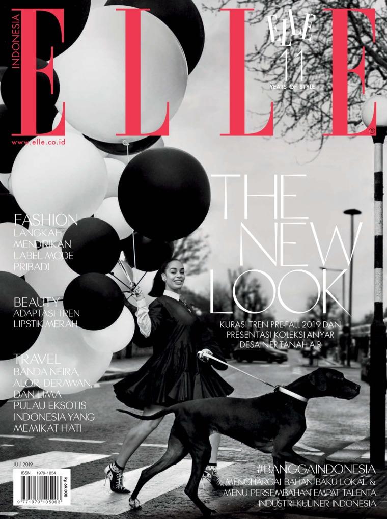 ELLE Indonesia Digital Magazine July 2019