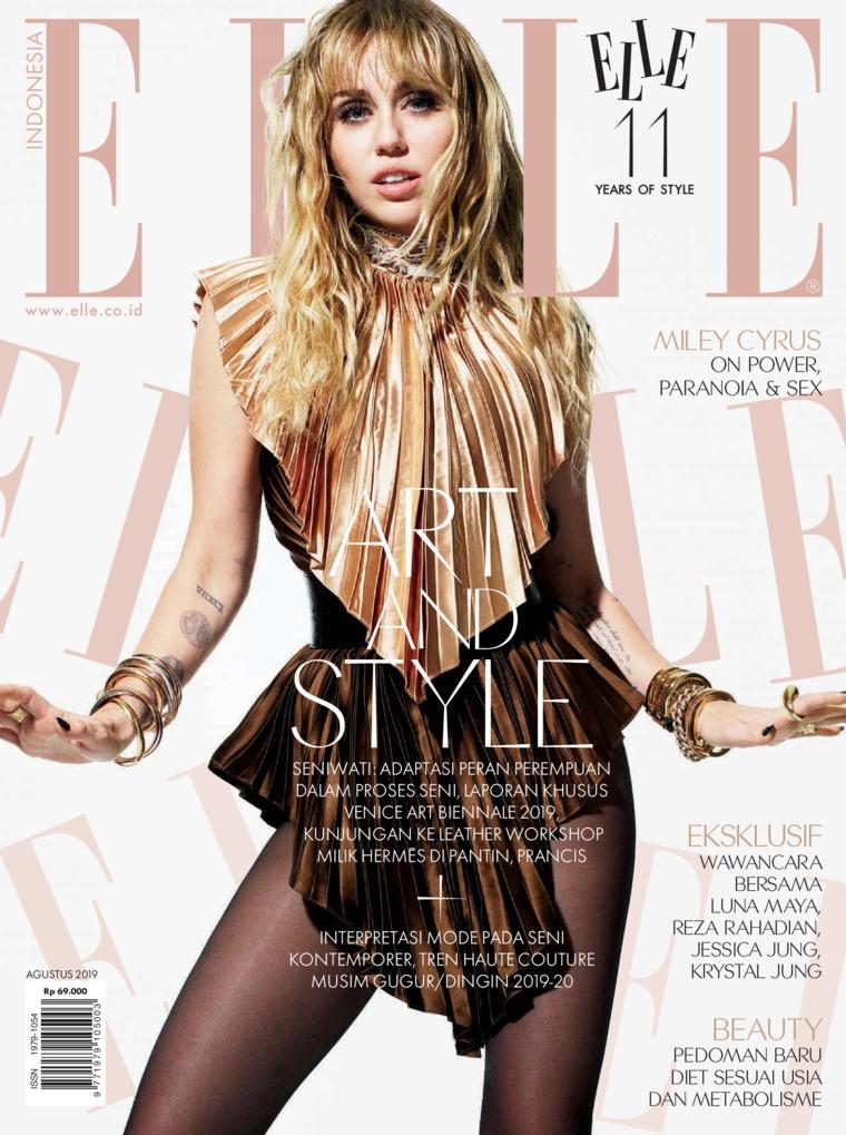 ELLE Indonesia Digital Magazine August 2019