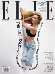 ELLE Indonesia Magazine Cover August 2018