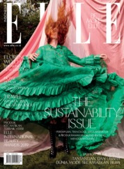 ELLE Indonesia Magazine Cover January 2019