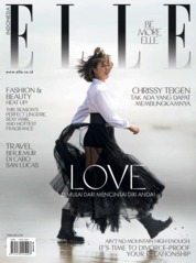 ELLE Indonesia Magazine Cover February 2019