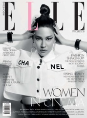 ELLE Indonesia Magazine Cover March 2019