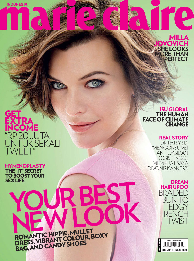 Marie Claire (July 2012)