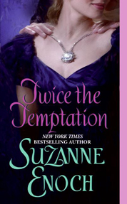 Cover Twice the Temptation oleh Suzanne Enoch