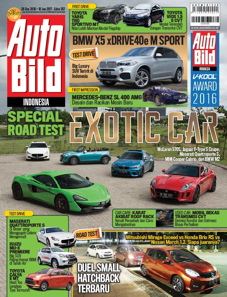 Majalah Digital Auto Bild ED 357 Desember 2016