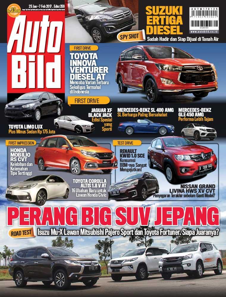 Auto Bild Magazine ED 359 January 2017 - Gramedia Digital