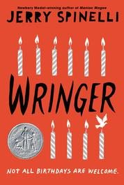 Wringer by Jerry Spinelli Cover