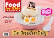 Food For Kids Indonesia Magazine Cover February 2016