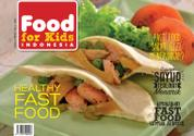 Food For Kids Indonesia Magazine Cover March 2016