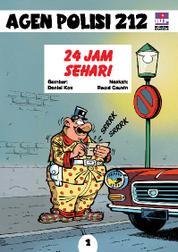 Cover Seri Agen Polisi 212 No.1: 24 Jam Sehari oleh
