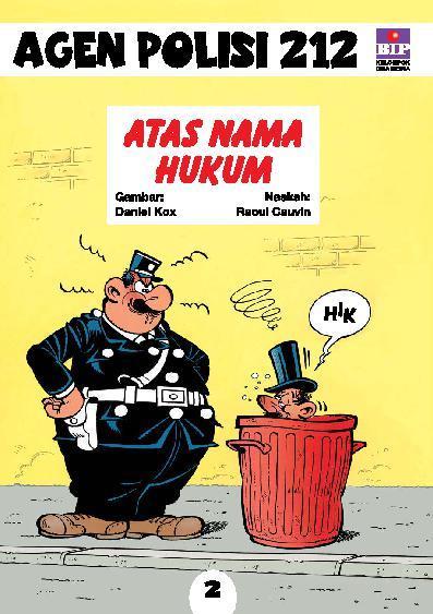 Buku Digital Seri Agen Polisi 212 No.2: Atas Nama Hukum oleh Raoul Cauvin