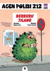Cover Seri Agen Polisi 212 No.5: Berburu Tilang oleh