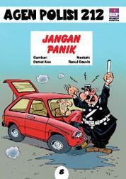 Cover Seri Agen Polisi 212 No.8: Jangan Panik oleh
