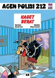 Cover Seri Agen Polisi 212 No.13: Kaget Berat oleh