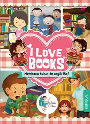 Cover I Love Books oleh Fanny S