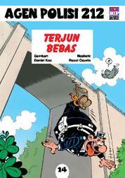 Seri Agen Polisi 212 No.14: Terjun Bebas by Cover